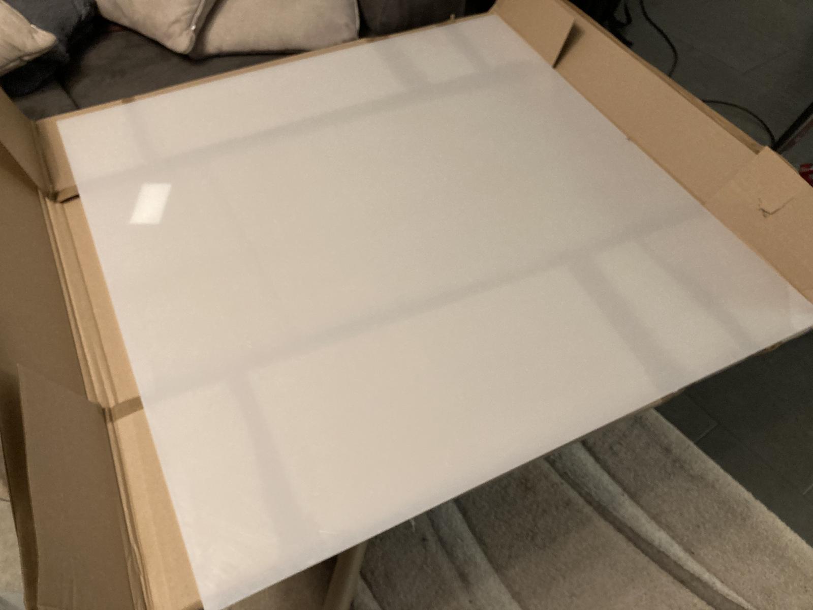 Plexiglasplatte satiniert WH10 DC