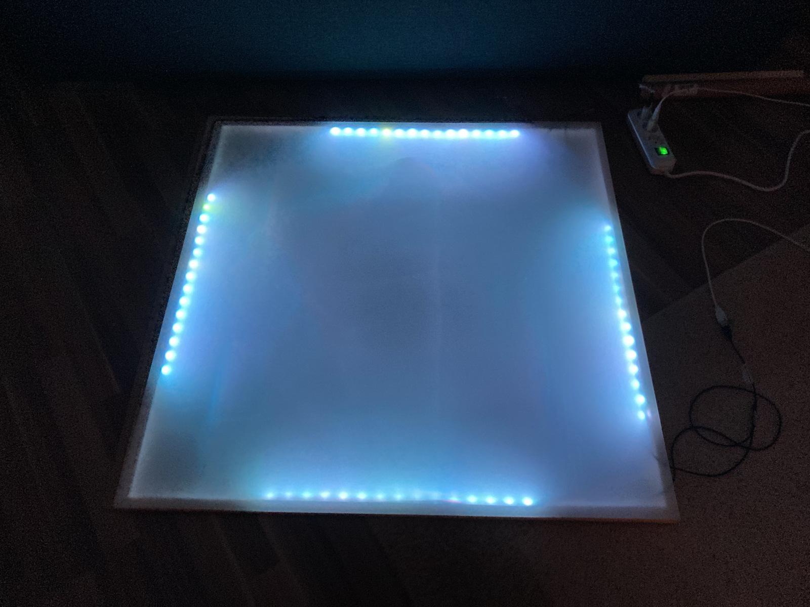 Test mit LED-Streifen