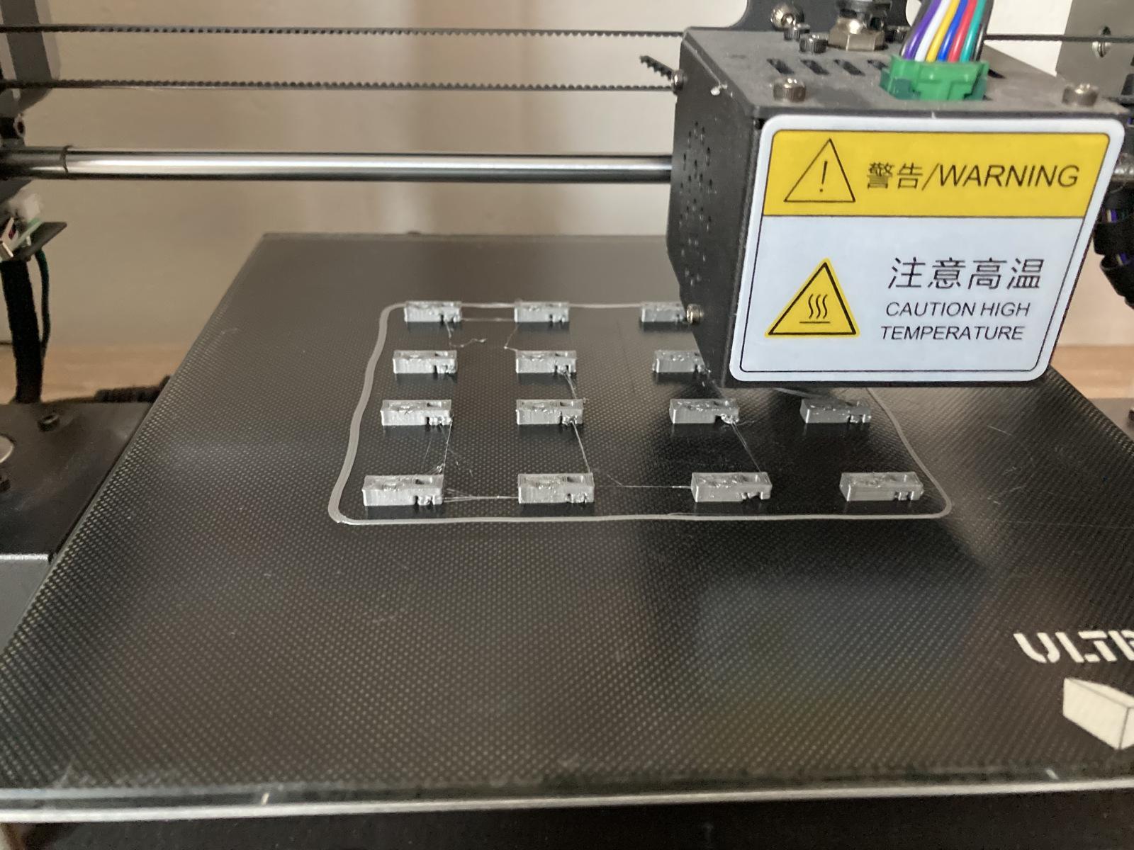 Kabelhalter zum Schrauben für Kabelbinder