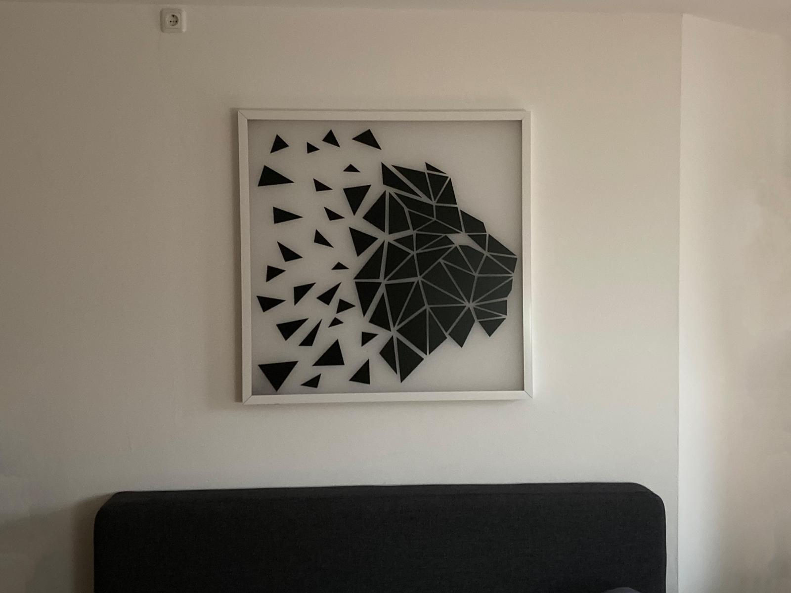 Und an der Wand