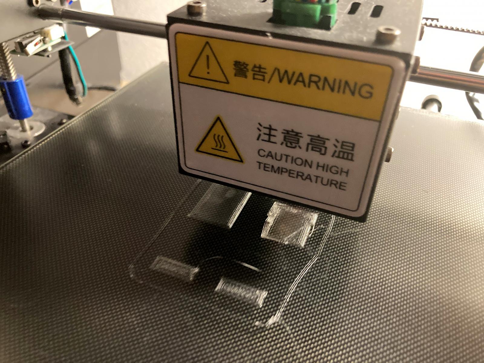 Druck der Halterungen für USB-Adapter, ESP und Wandler