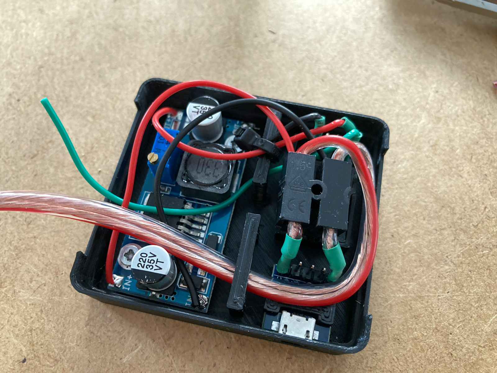 Controllergehäuse Aufbau