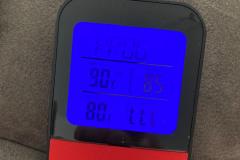 ... erhöhte Temperatur bei 85 Grad